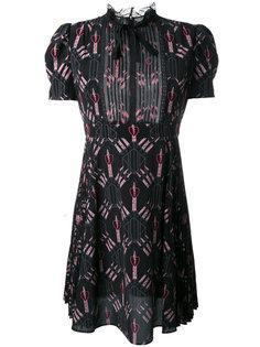 мини платье Love Blades Valentino