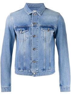 укороченная джинсовая куртка  Harmony Paris