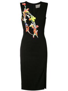 embroidered flowers dress  Jason Wu