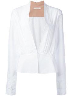 plunge front blouse Ssheena