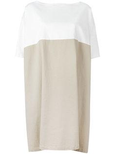two-tone dress Stefano Mortari