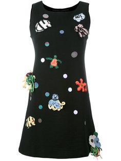 мини-платье с заплатками Michaela Buerger