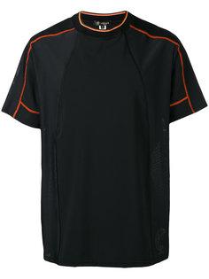 футболка с контрастной отделкой Versace