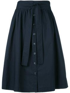 пышная юбка в складку Woolrich