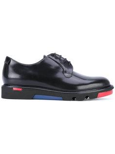 ботинки дерби с контрастной подошвой Emporio Armani