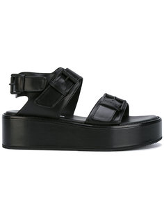 сандалии с пряжками Ann Demeulemeester