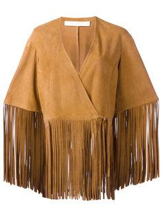 fringed jacket Drome