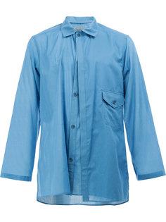 рубашка с накладным карманом Yohji Yamamoto