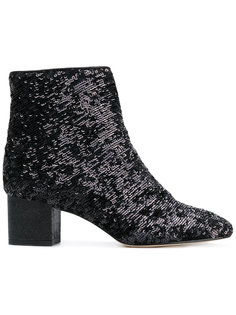 sequinned ankle boots Marc Ellis
