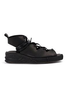 сандалии на шнуровке Masnada