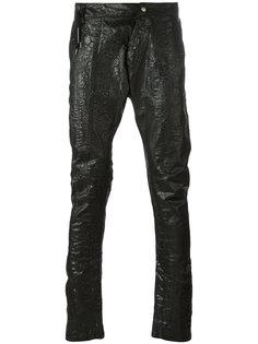 удлиненные зауженные брюки Army Of Me