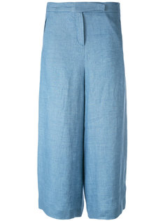 wide-legged cropped trousers Loro Piana