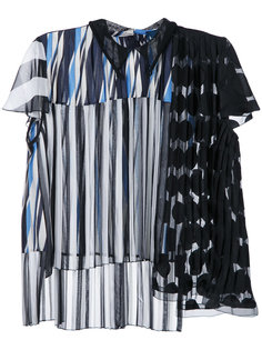 patchwork blouse Kolor