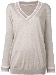 slub knit sweater Agnona