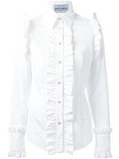 ruffled shirt  Daizy Shely