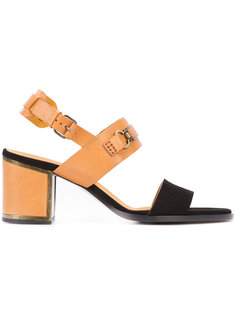 chunky heel sandals  Veronique Branquinho