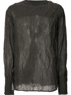 semi-sheer longsleeved T-shirt Yang Li