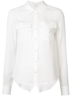 рубашка с нагрудными карманами Veronica Beard