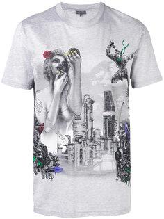 футболка с графическим принтом Lanvin