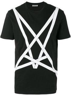 футболка с принтом Dior Homme