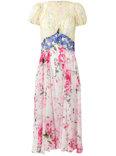 floral shift dress Attico
