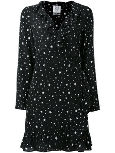 stars print ruffled dress Zoe Karssen