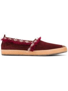 Marbella velour slippers  Henderson Baracco