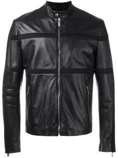 куртка с сетчатыми вставками Dirk Bikkembergs