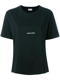футболка с принтом Saint Laurent Saint Laurent