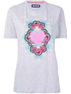 футболка с принтом сердца House Of Holland