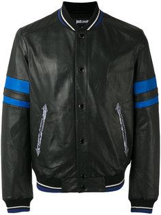 куртка с вышивкой змеи Just Cavalli