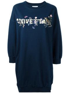 платье-толстовка Storione Vivetta