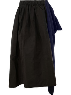 длинная асимметричная юбка Uma Wang