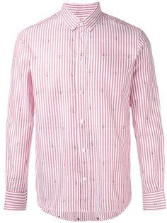 рубашка в полоску Maison Kitsuné