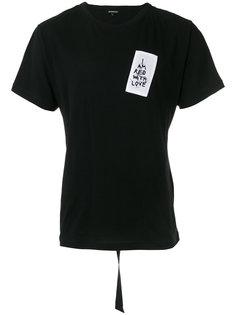 футболка с нашивкой Ann Demeulemeester