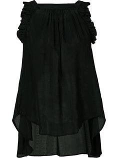 ruffled detail blouse Veronique Branquinho