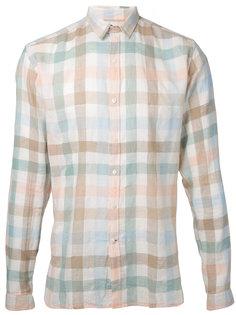 рубашка в клетку Oliver Spencer