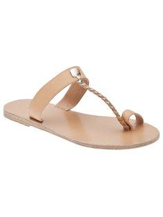 melpomeni flat sandal Ancient Greek Sandals