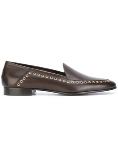 grommet detail loafers Louis Leeman