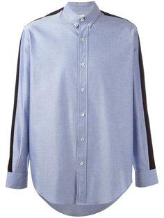 рубашка с контрастными вставками  Ami Alexandre Mattiussi