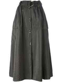 юбка длины миди с кнопками спереди Nina Ricci
