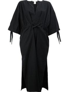 платье с разрезом на вырезе Maison Rabih Kayrouz