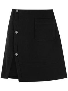 юбка с разрезом сбоку Egrey