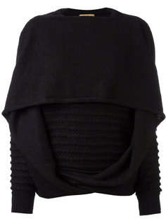 kitted draped sweater Issey Miyake Vintage