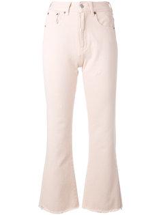 укороченные брюки клеш Mm6 Maison Margiela