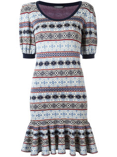 jacquard dress Alexander McQueen