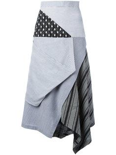 draped skirt  J.W.Anderson