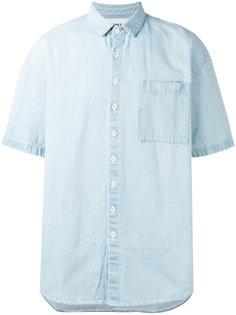 shortsleeved denim shirt  Sunnei
