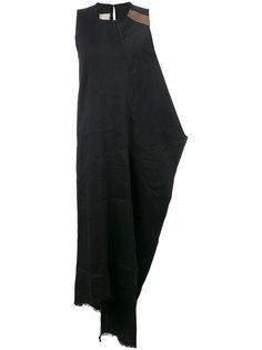 драпированное платье-майка Uma Wang