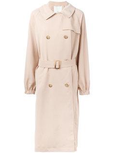 draped twill trench coat  Tibi